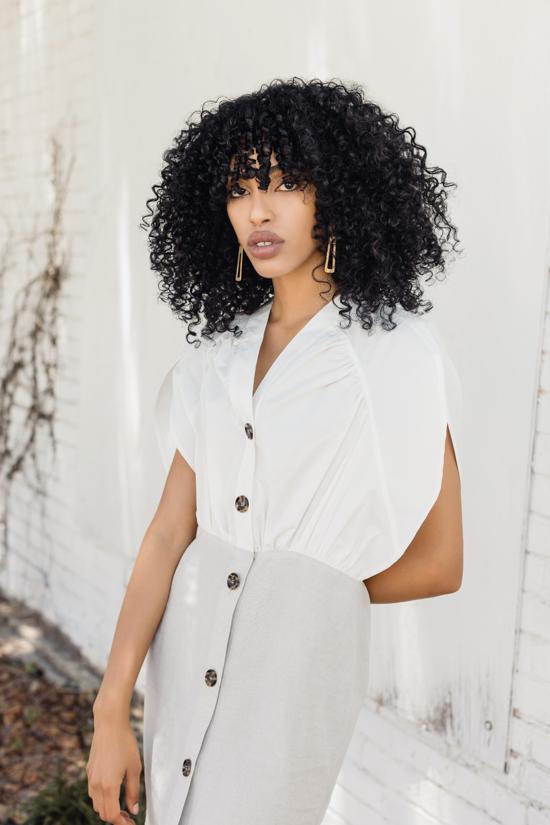 summer white linen