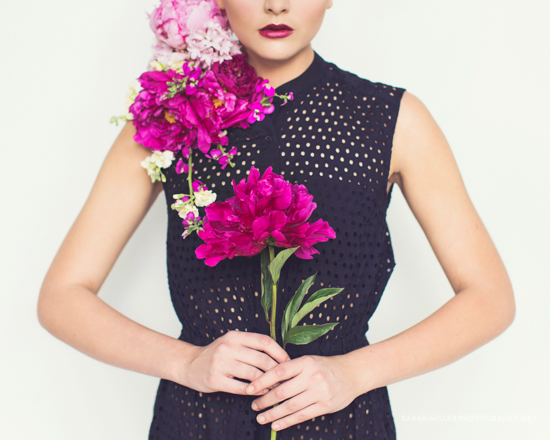 Floral editorial