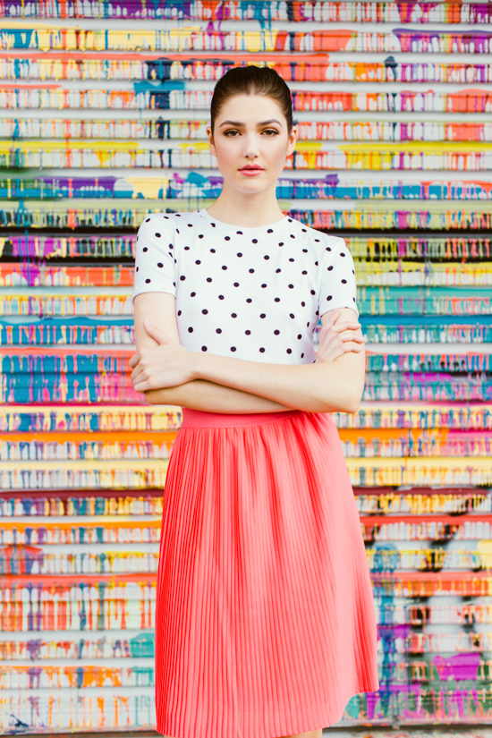 colorful editorial