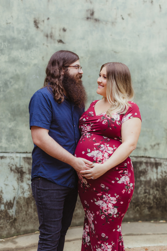 maternity couples photos