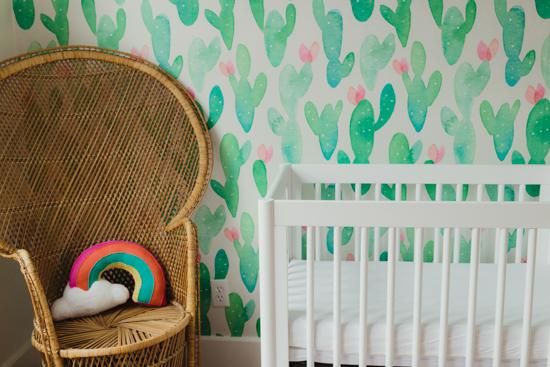 nursery reveal Houston