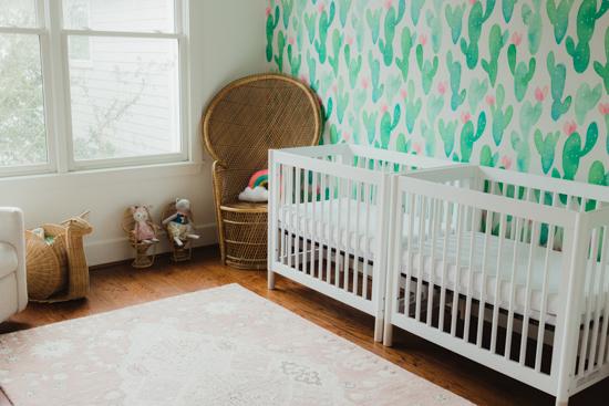 boho nursery reveal