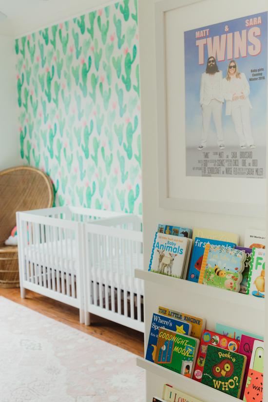 nursery reveal photography
